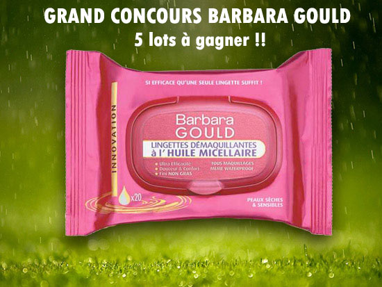 Concours Barbara Gould
